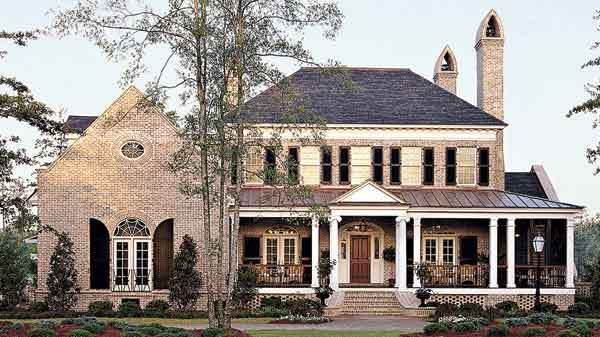 French Country Home Exterior Plans