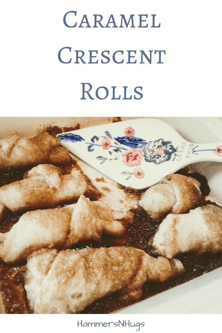caramel crescent rolls