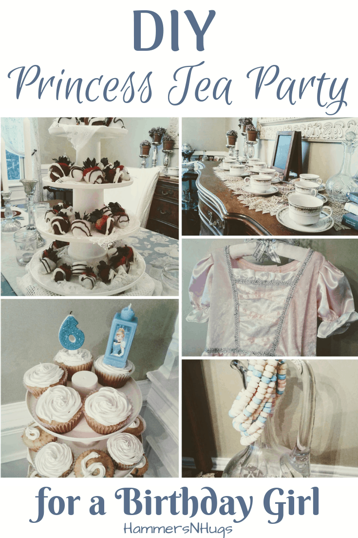 princess tea party for a birthday girl