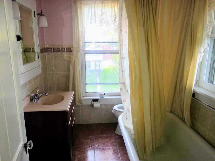 vintage victorian bathroom renovation