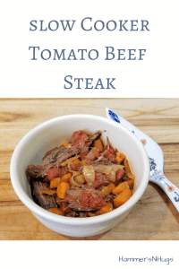 slow cooker tomato beef steak