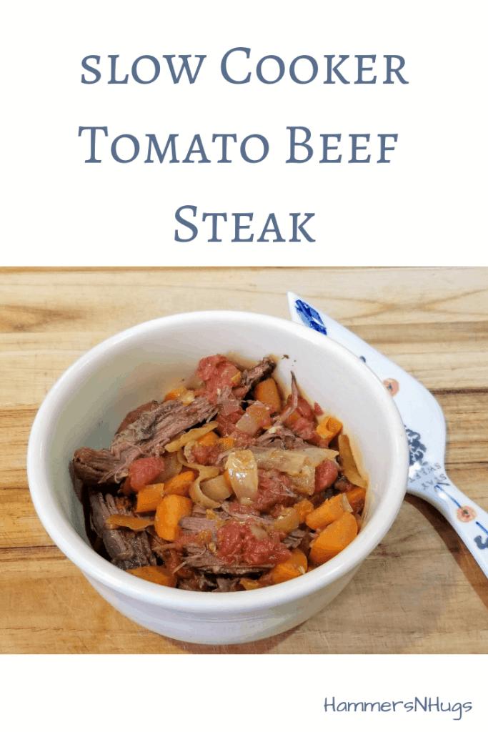 slow cooker tomato beef steak