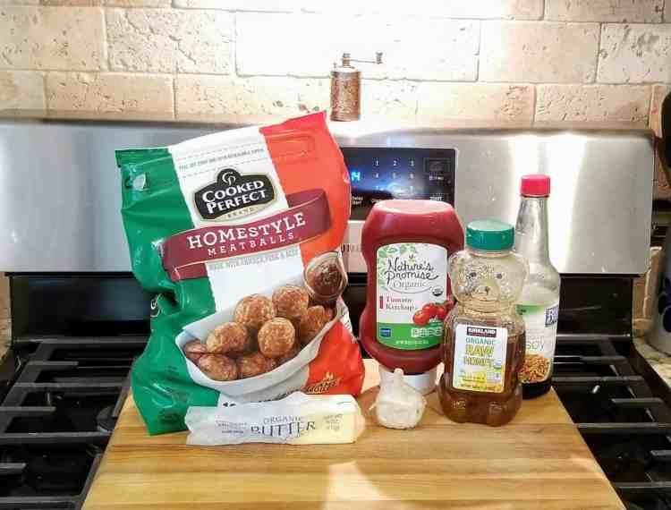 Slow Cooker Honey Garlic Meatball Recipe