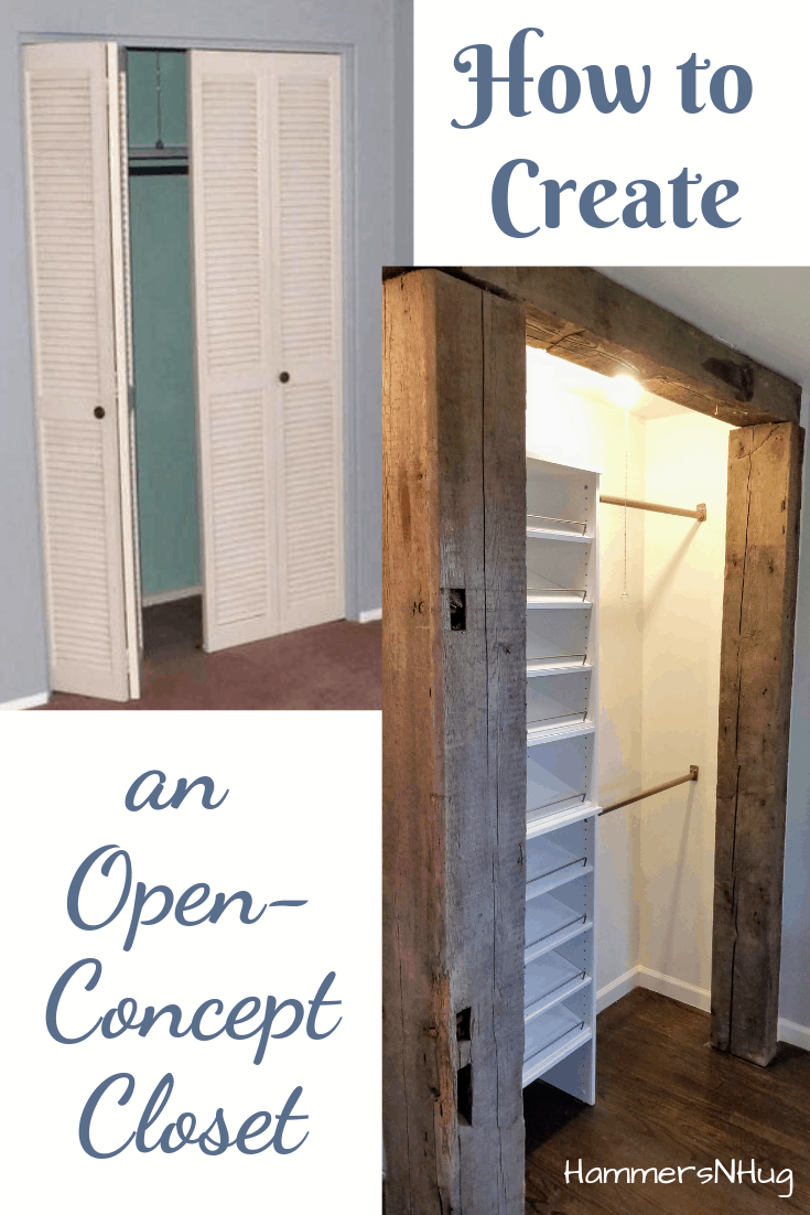 How to Create an Open Concept Closet