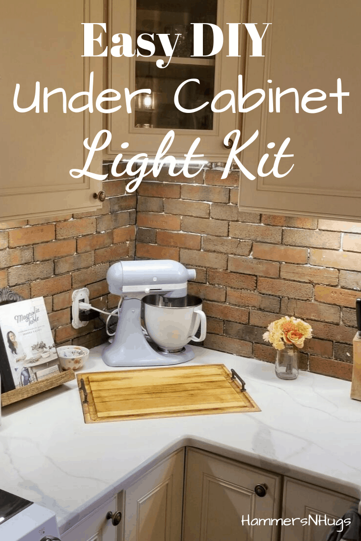 How to Add Lighting Under Kitchen Cabinets (in 20 minutes!)