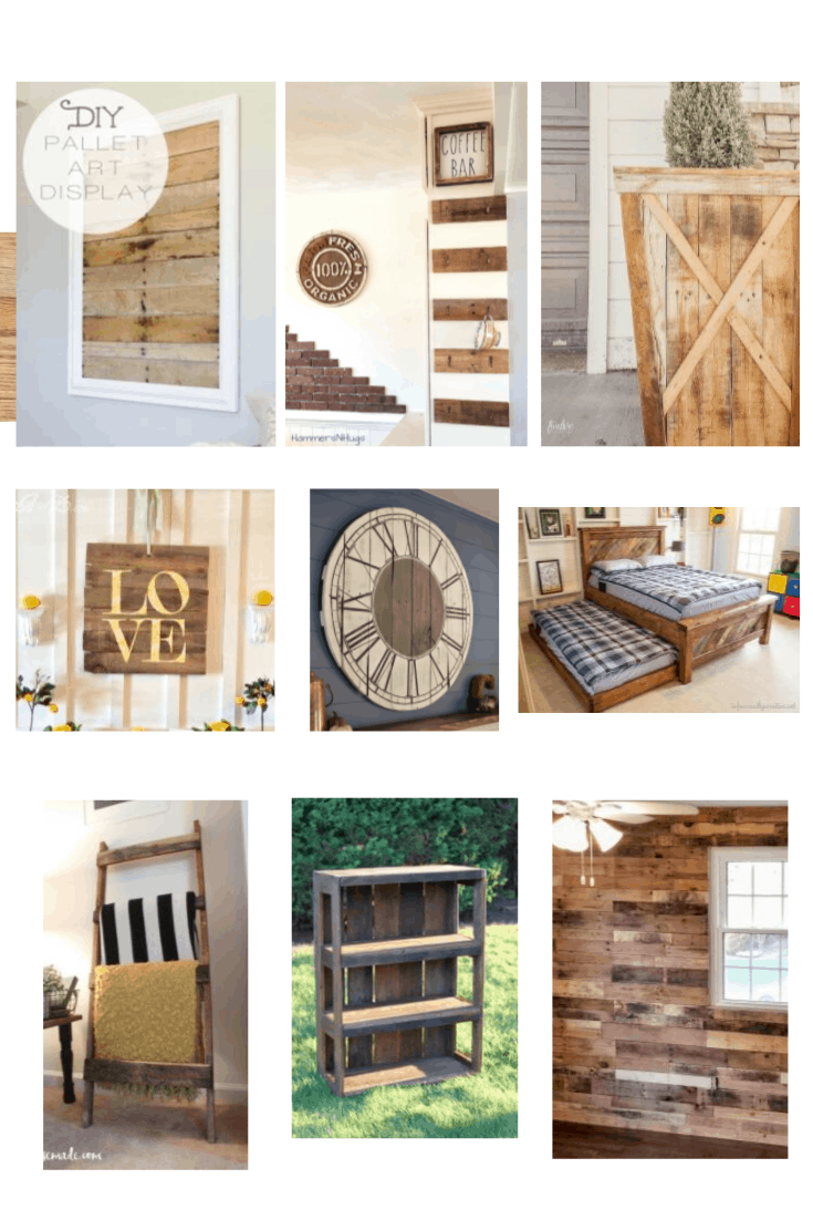 10 Farmhouse Style Pallet Wood Projects