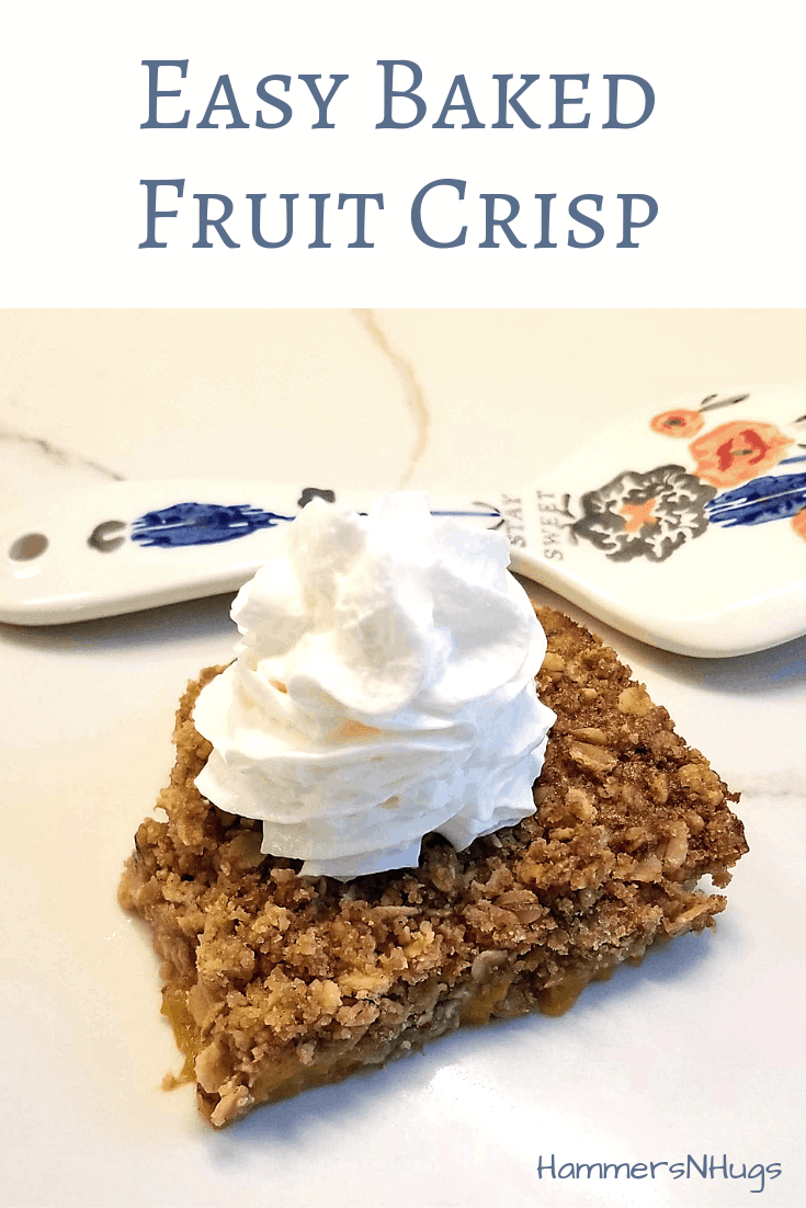 Easy Baked Fruit Crisp