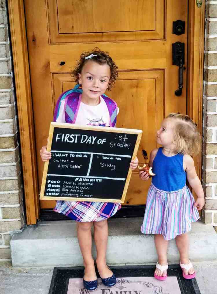 How to Make an Easy Back to School Sign