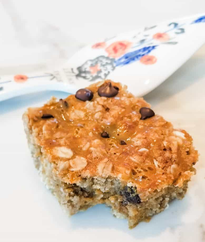 Pumpkin Chocolate Chip Oat Bar