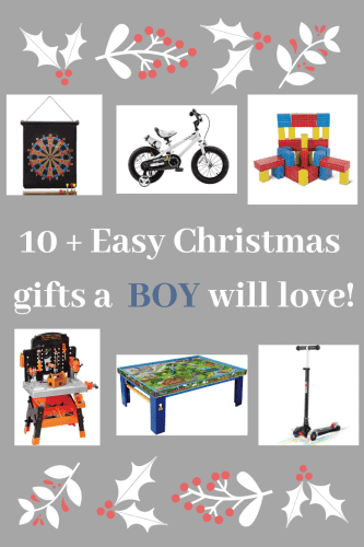 10+ Gift Ideas for a Young Boy