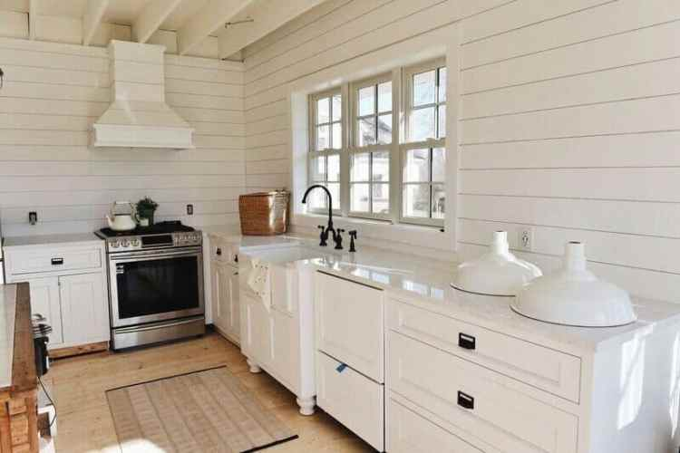 The Best Farmhouse Style Cool White Paint Colors