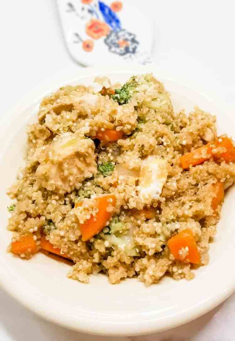 Chicken Fried Quinoa Recipe