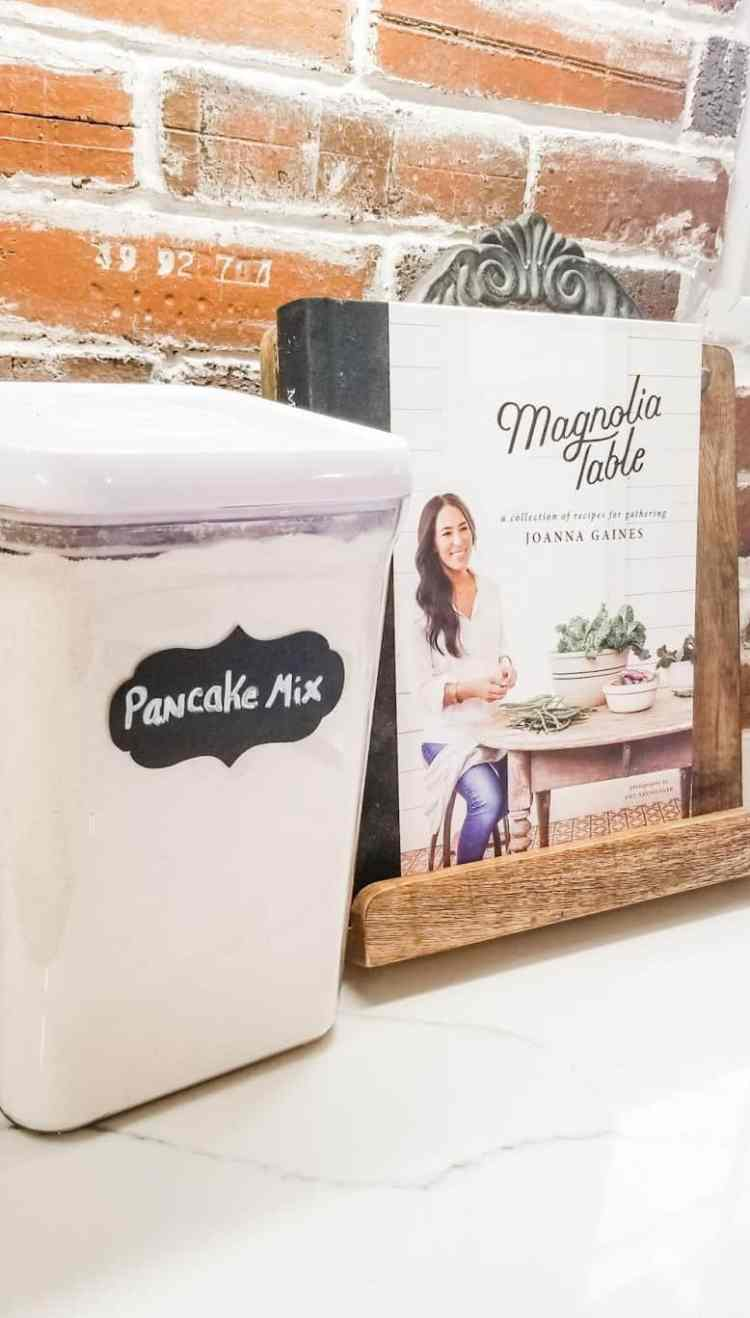 Joanna Gaines' Best Pancakes Boxed Mix