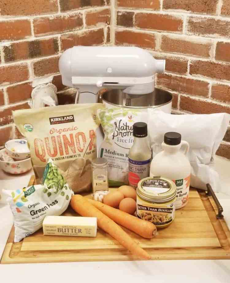 shrimp fried quinoa recipe