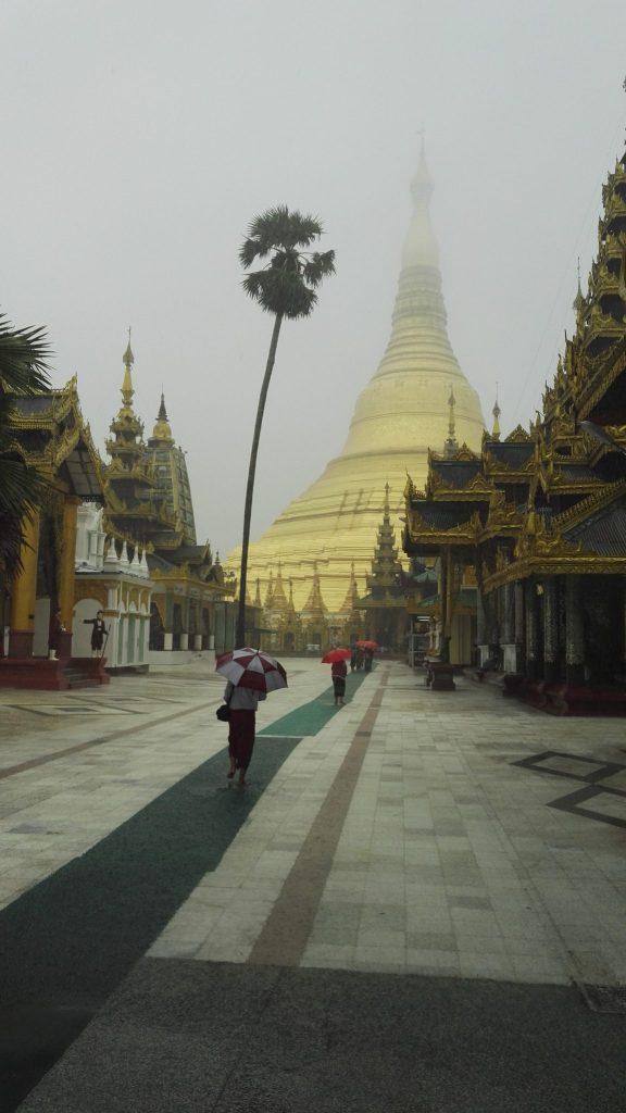 Shwedagon in mist
