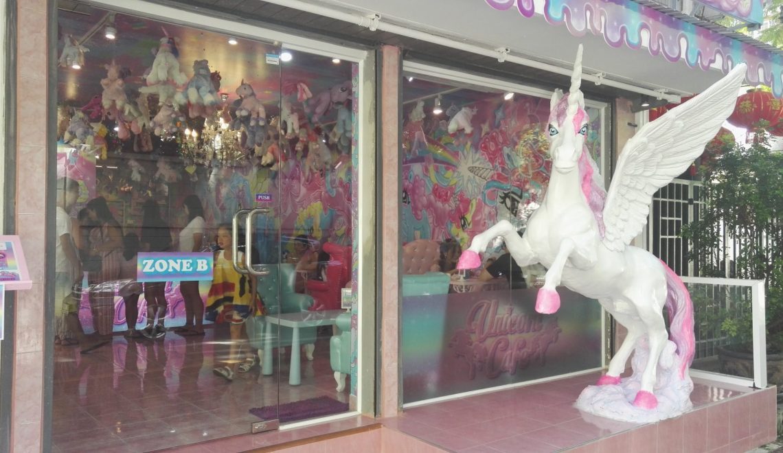 Still looking for that Unicorn – try this Cafe in Bangkok!