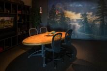 Hammond's conference room.