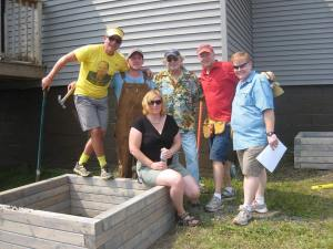 Planter Box Challenge Group Photo