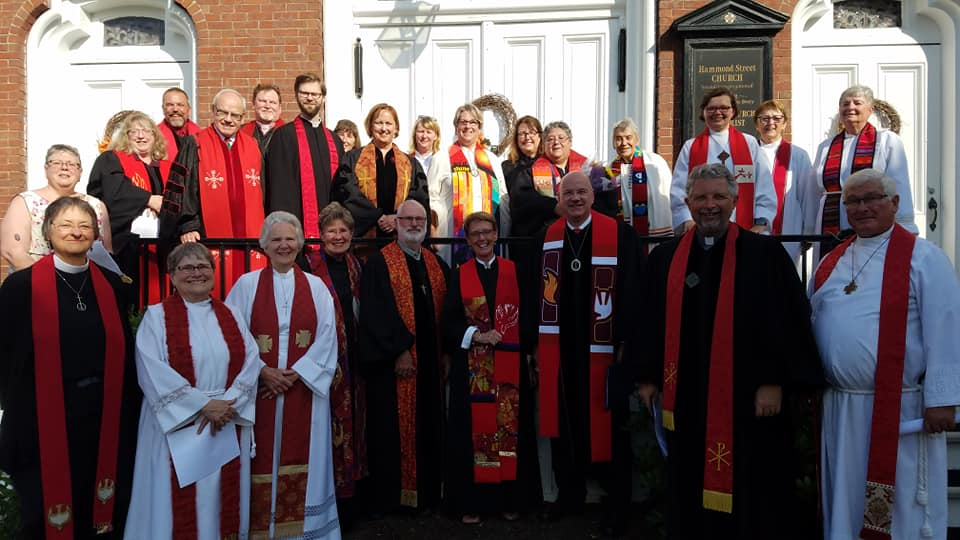 Clergy at ordination