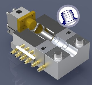 First Mover - A universal Injection Blow Mold tool for the plastic bottle industry