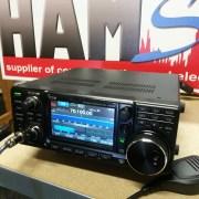 De IC-7300 met 70 MHz