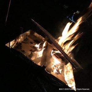 寒くなると焚き火が有り難いですね