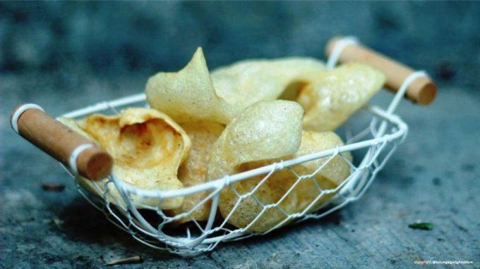 kerupuk rambang, makanan khas tulungagung