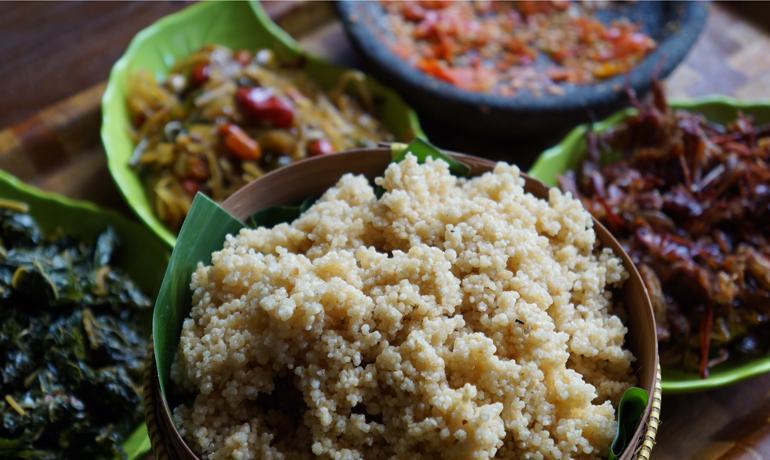 nasi tiwul, Makanan khas trenggalek