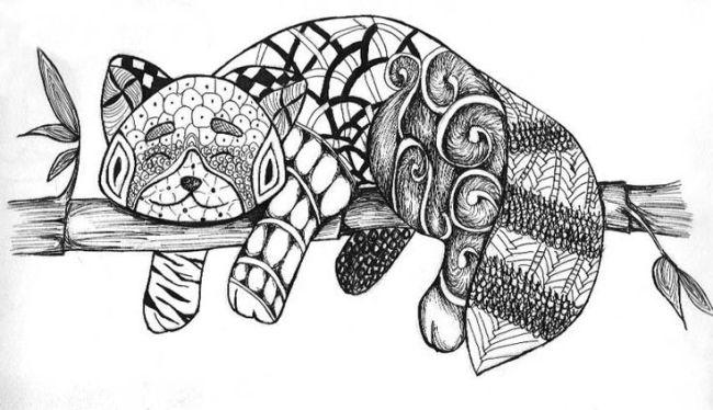 cara membuat doodle art