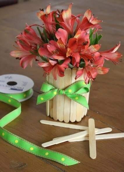 25 Kerajinan Dari Stik Es Krim Keren Dan Mudah Dibuat Terbaru