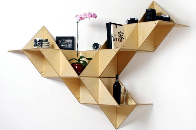 cara membuat rak buku