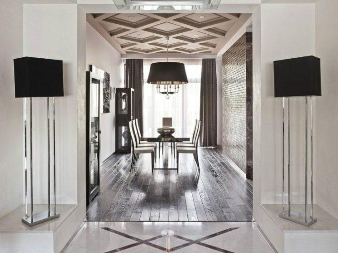 bentuk plafon rumah minimalis