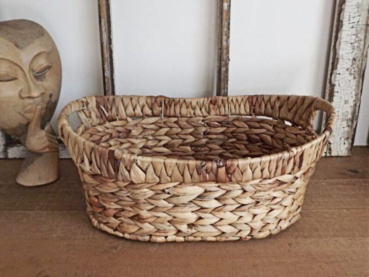 cara membuat kerajinan keranjang dari kulit jagung