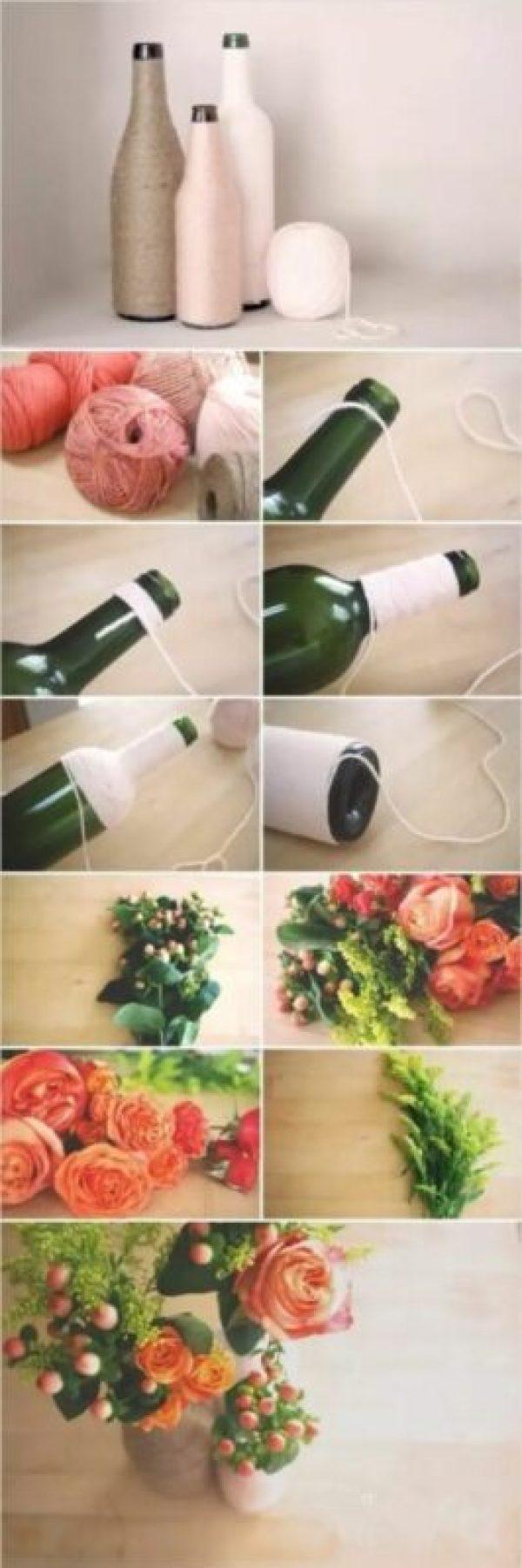 kerajinan dari botol kaca