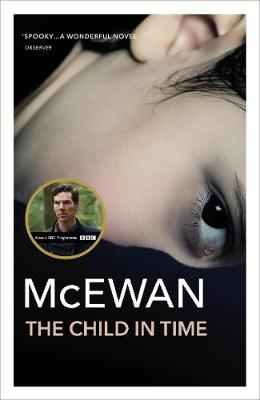 The image shows the book cover of The Child in Time by Ian McEwan