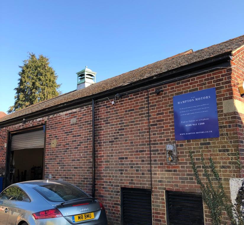 hampton motors garage