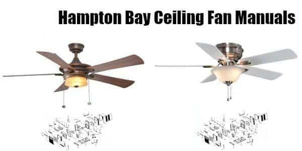 hampton bay ceiling fan manuals – hampton bay ceiling fans
