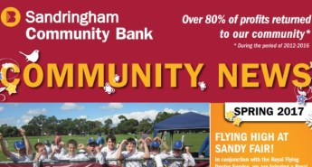 Bendigo Bank, Sandringham Community News