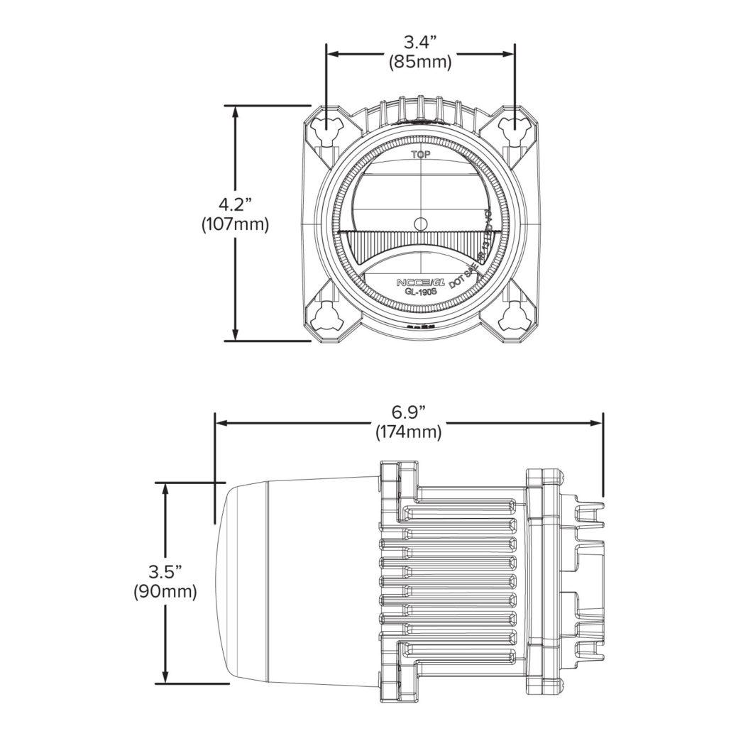 90mm Bi Led High And Low Beam Headlight Module