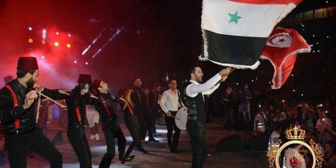 """بالفيديو…..حسين الديك يشعل """"ليالي قرطاج"""""""