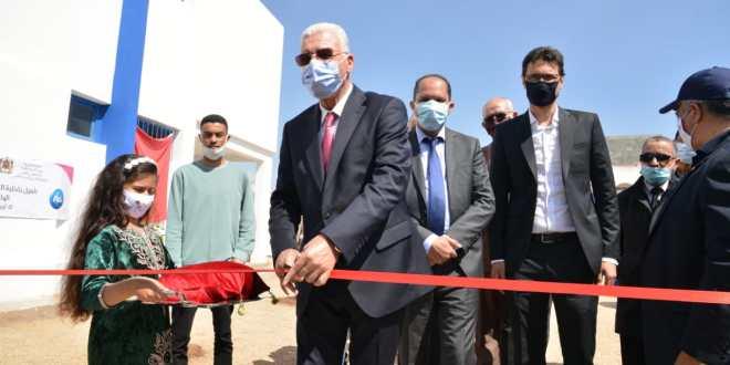 إعادة تأهيل داخلية تلاميذ إعدادية الوليدية (إقليم سيدي بنور)