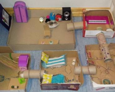 Hamsters exploring their new house. Cute & funny. - hamsters exploring their new house cute funny