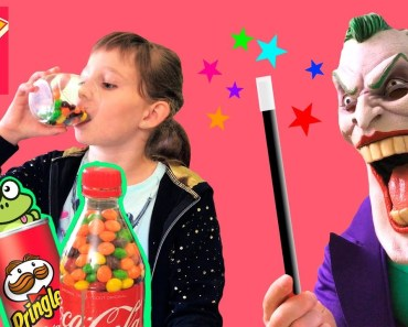 Bad Kids & Joker Chocolate Candy Coca Cola Skittles Pringles Baby Song Nursery Rhymes for Children - bad kids joker chocolate candy coca cola skittles pringles baby song nursery rhymes for children