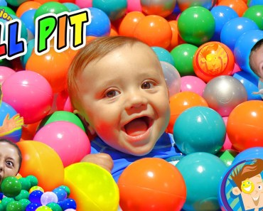 BALL PIT IN OUR HOUSE!! Crazy Kids Get 22k Balls! (FUNnel Vision Family Fun Indoor Activities) - ball pit in our house crazy kids get 22k balls funnel vision family fun indoor activities