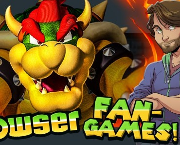 BOWSER Fan-Games! - SpaceHamster - bowser fan games spacehamster