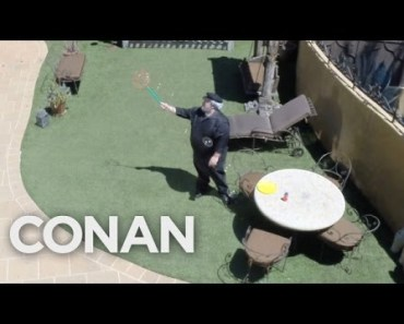 George R.R. Martin Is Working Hard On His Next Book - CONAN on TBS - george r r martin is working hard on his next book conan on tbs