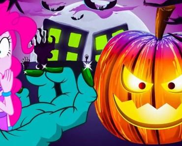 HALLOWEEN TRICKS | New Episodes | Halloween Funny Cartoons For Kids | My Little Pony MLP - halloween tricks new episodes halloween funny cartoons for kids my little pony mlp