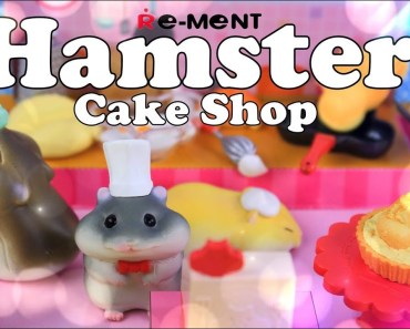 Unbox Daily: Re - Ment Hamster Cake Shop | Kawaii | Japanese Blind Boxes - unbox daily re ment hamster cake shop kawaii japanese blind