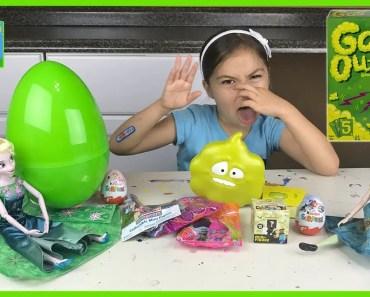 Big Surprise Egg Toys Funny Fart Game Frozen Elsa & Anna Peppa Pig Disney Junior Doc McStuffins - big surprise egg toys funny fart game frozen elsa anna peppa pig disney junior doc mcstuffins