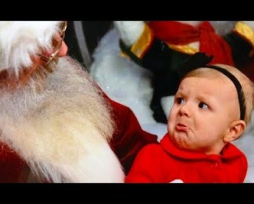 Funny Babies Scared by Santa Claus - Babies Meeting Santa for the First time - funny babies scared by santa claus babies meeting santa for the first time